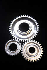 Three gears binding together