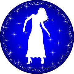 sternzeichen button jungfrau