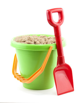 bucket and spade