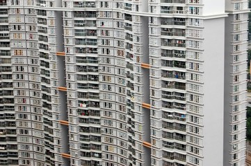 The high density residential apartments