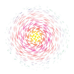 color swirl background