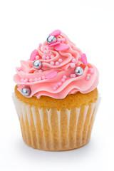 Wall Mural - Pink cupcake