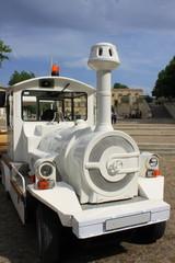 Petit train touristique routier