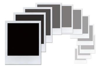 Empty polaroids