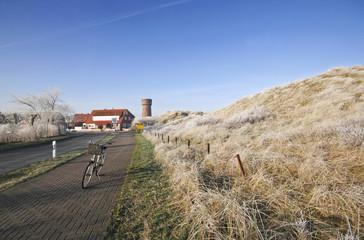 winterliche Radtour