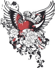 Heart Crown Sin Religion