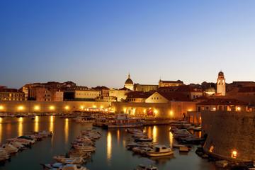 Dubrovnik bay, Croatia