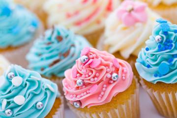 Fototapete - Cupcake assortment