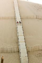 escalier de la dune du Pilat 2