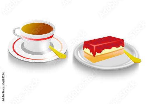 kaffee und kuchen stockfotos und lizenzfreie vektoren auf bild 14688226. Black Bedroom Furniture Sets. Home Design Ideas