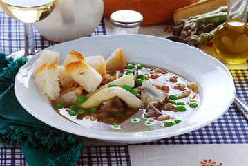 Garmugia lucchese - Primi piatti della cucina toscana