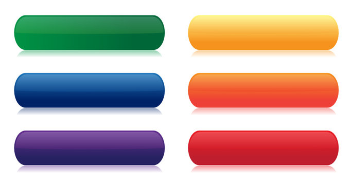Colorful Rainbow Buttons
