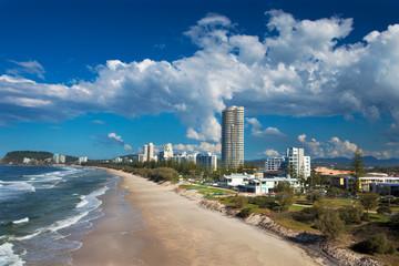 Burleigh heads beach, Gold Coast, Australia