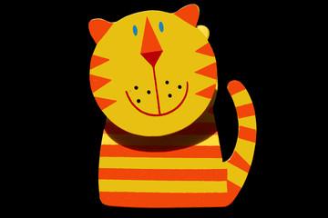 tigre de bois