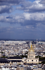 cityscape view invalides of paris france