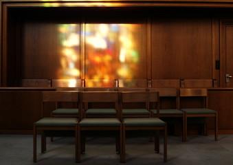 interieur d'église ...miroitement