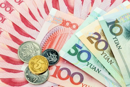 Chinese currency,Chinese Yuan,RMB banknotes