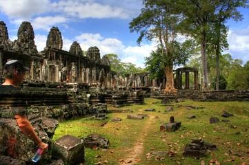 Wat Bayon (Angkor Wat) - Siam Reap - Cambodia / Kambodscha