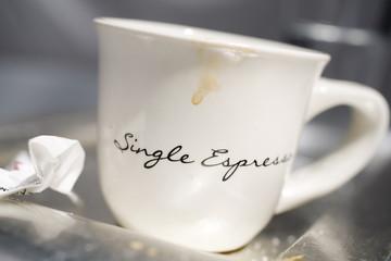 Espresso nach dem Essen