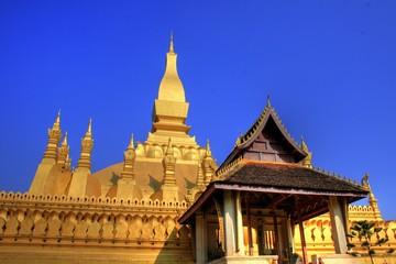 Pha That Luang - National Monument - Vientiane - Laos