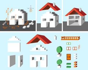 maison,construction & kit