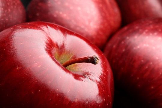 Macro apple