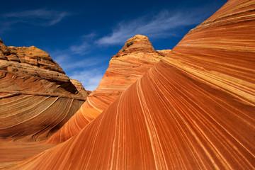 Poster Cuban Red Red rocks of Pariah canyon in Utah, Southwest USA