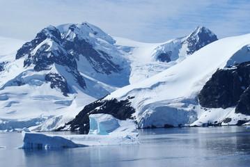 In de dag Antarctica Paradise Harbour, Antarktis