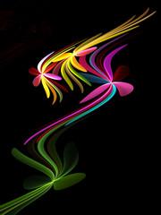 Stilisierter floraler Hintergrund