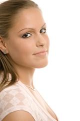 Beautiful college girl