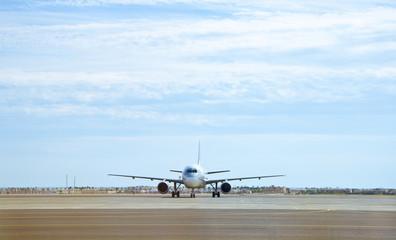 Jet awaiting