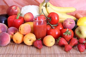 Gemüsesaft,Gemüse,Obst