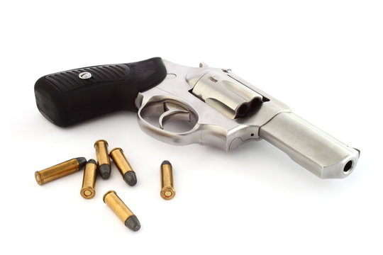 Revolver and bullets