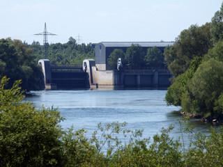 Donauschleuse bei Vohburg