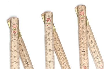 Folding ruler