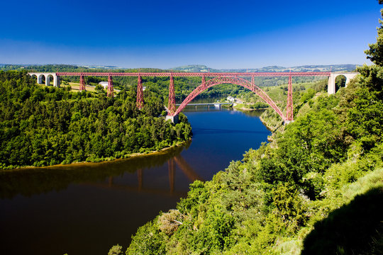 Garabit Viaduct, Cantal Département, Auvergne, France