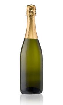Sparkling White Wine Bottle