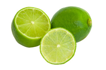 lime and section