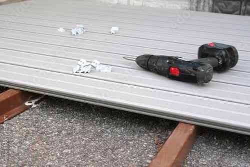 Terrasse composite photo libre de droits sur la banque d 39 imag - Tarif terrasse composite ...
