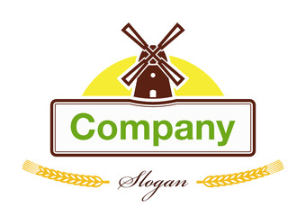 Label for the products of agro-based company