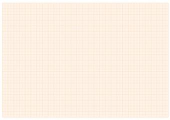 Papier millimétré orange