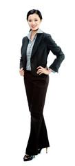 An attractive businesswoman
