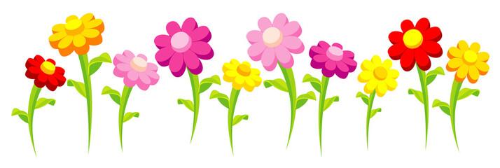 motley funny flowers