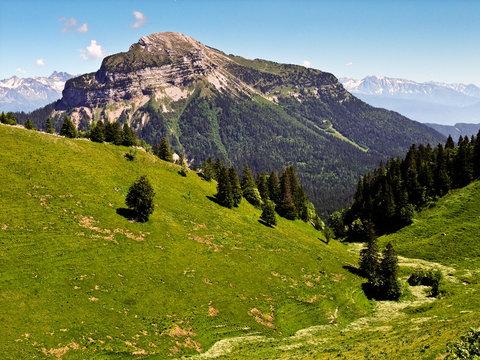 Paysage alpin (Charmant Som)