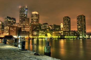 Boston: View from Fan Pier.