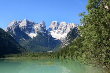 Poster de jardin Photos panoramiques Monte Cristallo