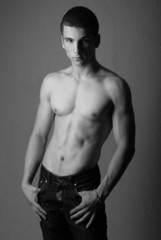 Athletic male model