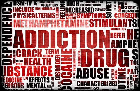 Red Drug Addiction
