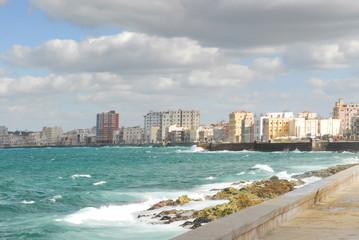Keuken foto achterwand Havana malecon havana cuba