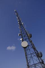 radio communications tower